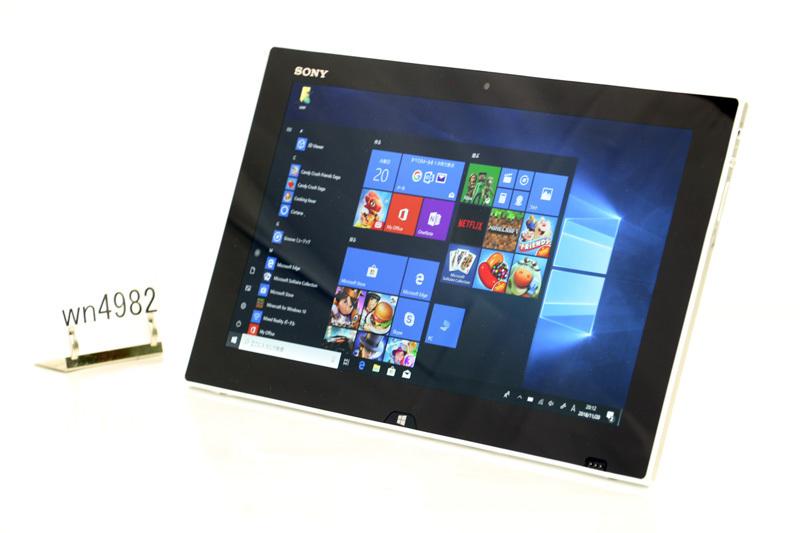中古 タブレットPC WPS Office付き Windows10 SONY VAIO Tap 11 SVT1122BCJ Core i5 4210Y 1.50GHz 4GB SSD 128GB Bluetooth タッチパネル カメラ 3ヶ月保証【あす楽】【中古】【消費税込】【送料・代引手数料無料】