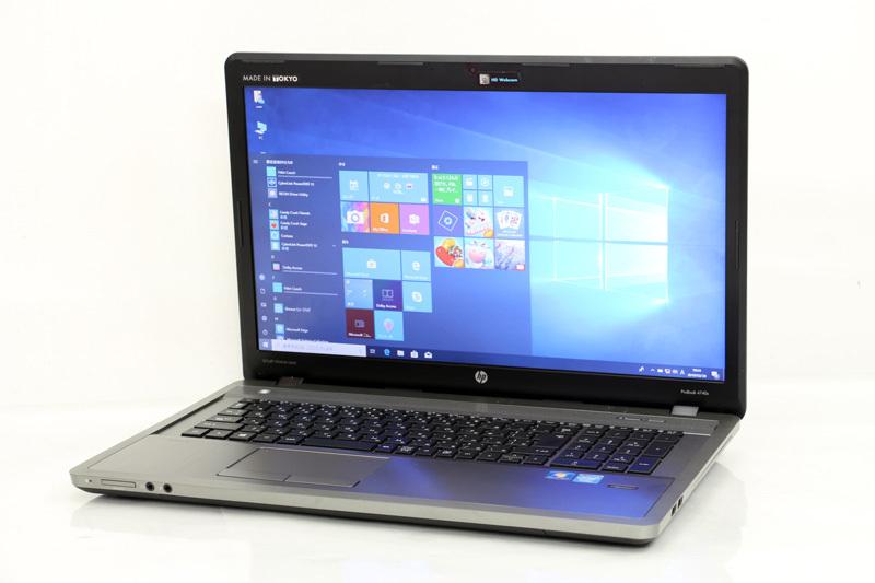 ノートパソコン WPS Office付き 大画面液晶 Windows10 HP ProBook 4740s Celeron 1000M 1.80GHz 4GB SSD128GB DVDスーパーマルチ カメラ HDMI 3ヶ月保証【あす楽】【中古】【消費税込】【送料・代引手数料無料】