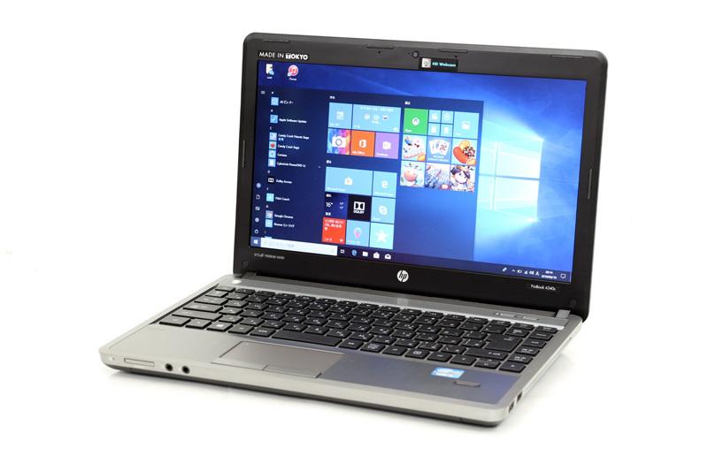 ノートパソコン WPS Office付き Windows10 HP PROBOOK 4340S Core i5 3230M 2.60GHz 4GB SSD128GB DVD-ROM カメラ HDMI 3ヶ月保証【あす楽】【中古】【消費税込】【送料・代引手数料無料】