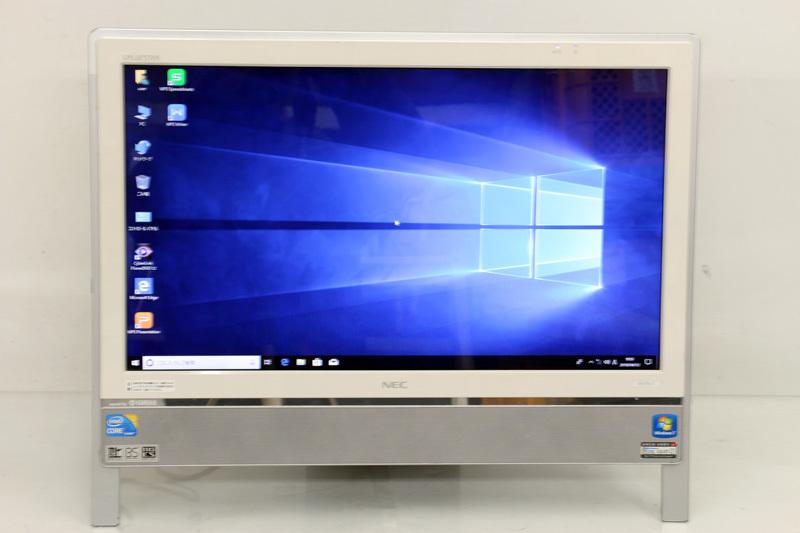 中古 液晶一体型 NEC PC-VN770CS6W Core i5 460M 2.53GHz 4GB 1TB ブルーレイ Win10 3ヶ月保証 wd1673 【あす楽】【中古】【消費税込】【送料・代引手数料無料】