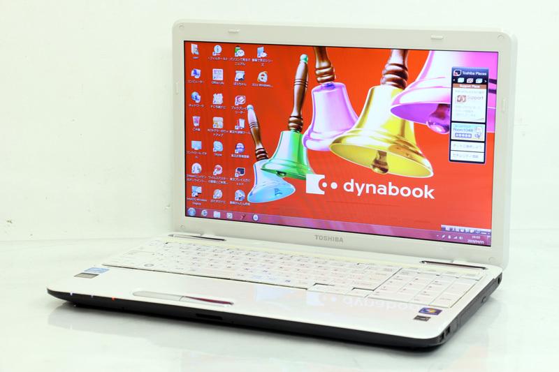 ノートパソコン Microsoft Office付き Windows7 東芝 dynabook T451/46DW PT45146DSFW Core i5 2430M 2.40GHz 4GB 750GB HDMI 3ヶ月保証【あす楽】【中古】【消費税込】【送料・代引手数料無料】