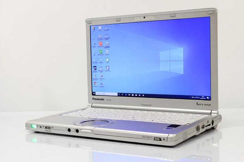中古 レッツノート WPS Office付き Windows10 Panasonic Let's note SX4 CF-SX4EDHCS Core i5 5300U 2.30GHz メモリ 4GB SSD 128GB DVDスーパーマルチ Bluetooth 3ヶ月保証 【あす楽】【中古】【消費税込】【送料・代引手数料無料】