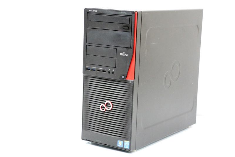 【あす楽】中古 デスクトップPC 本体 Windows10 富士通 ワークステーション CELSIUS W530(CELW0200A) Xeon E3-1280 V3 3.6GHz メモリ 8GB HDD 500GB DVDスーパーマルチ 3ヶ月保証【中古】【消費税込】【送料・代引手数料無料】