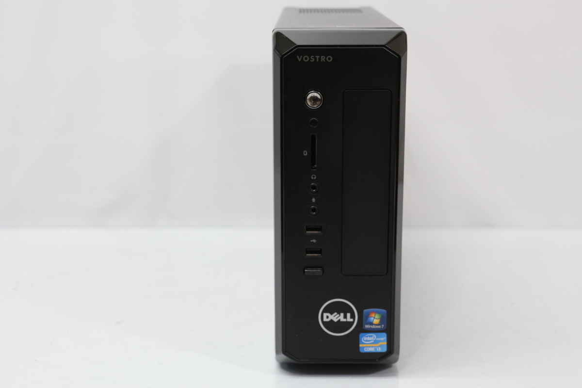 【あす楽】中古 デスクトップPC 本体 Windows10 DELL VOSTRO 270S Core i3 3240 3.4GHz メモリ 4GB HDD 500GB DVDスーパーマルチ 3ヶ月保証【中古】【消費税込】【送料・代引手数料無料】