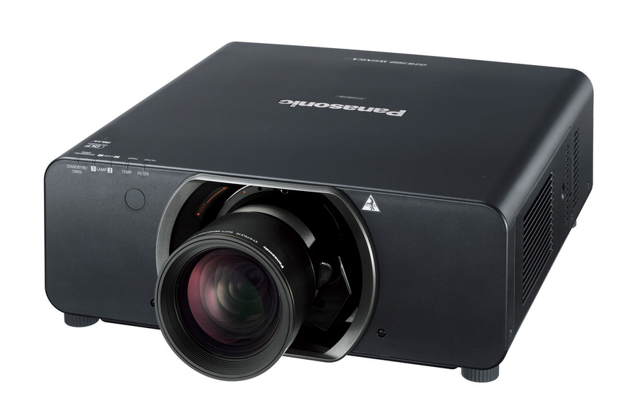 Panasonic パナソニック PT-DS8500 業務用大型プロジェクター レンズ付き ET-D75LE3 10600ルーメン 約24 kg 100V 207時間使用【中古】