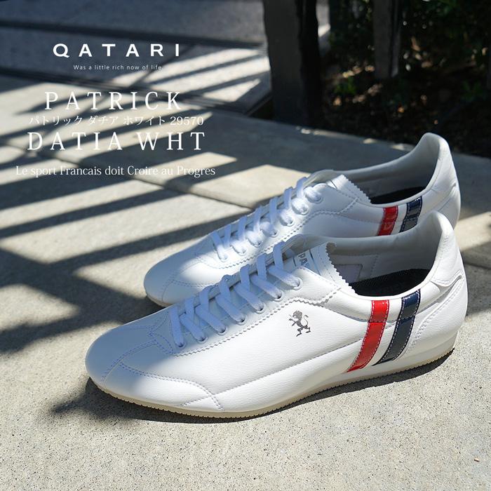 【靴紐通し済】パトリック スニーカー ダチア ホワイトPATRICK DATIA WHT 29570 メンズ レディース