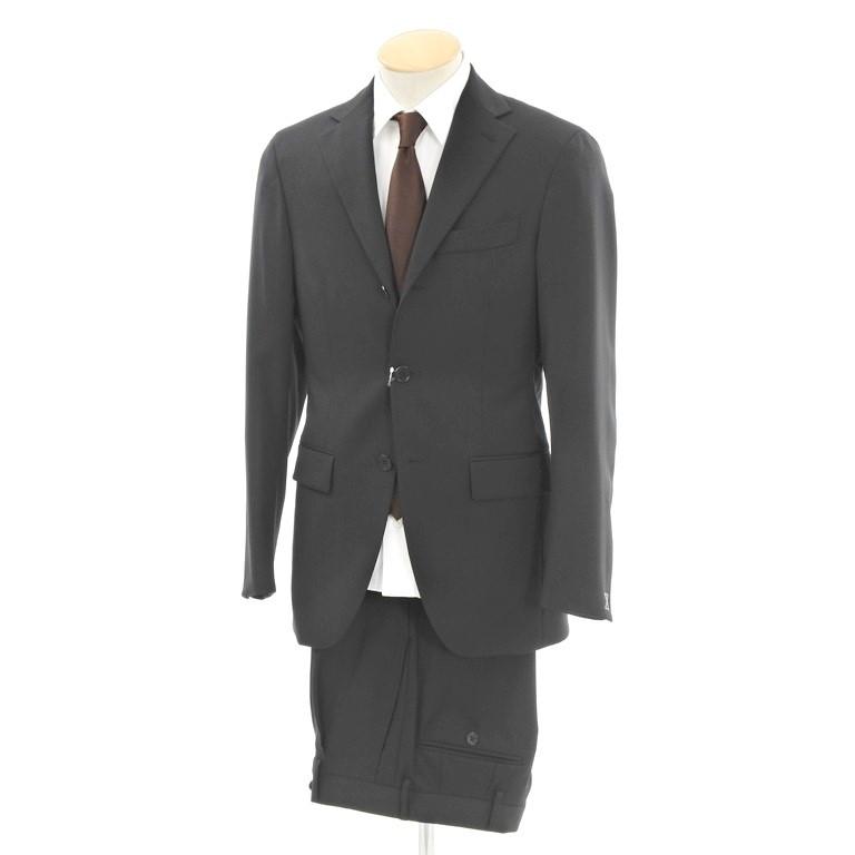 【中古】【未使用】カンタレリ Cantarelli ウール 3つボタンスーツ ブラック【サイズ42】【BLK】【S/S/A/W】【状態ランクS】【メンズ】【10402-956381】【2008APD】