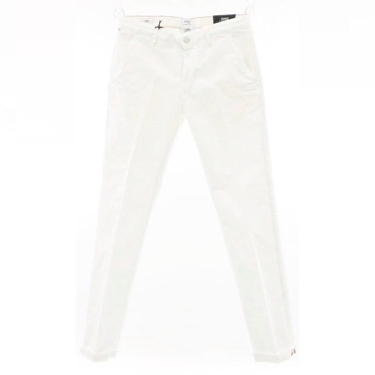 【新品】ピーティーゼロチンクエ PT05 GRUNGE ストレッチコットン 5ポケットパンツ ホワイト【サイズ31】【WHT】【S/S/A/W】【状態ランクN】【メンズ】【10904-956356】【1912APD】