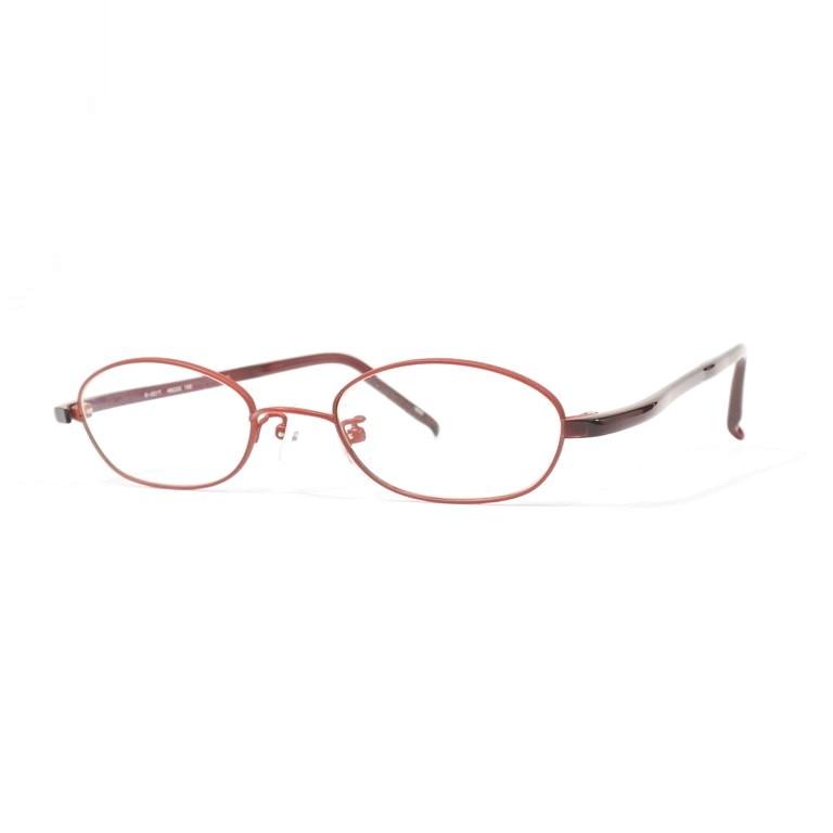 【中古】フォーナインズ 999.9 メタル×セルフレーム 眼鏡 S221T レッド系【RED】【S/S/A/W】【状態ランクB】【メンズ】【19999-956169】