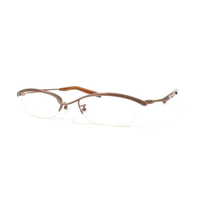 【中古】フォーナインズ 999.9 メタルブロー 眼鏡 S-207T マットブラウン【BRW】【S/S/A/W】【状態ランクB】【メンズ】【19999-956169】