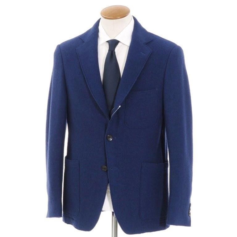 【中古】トゥモローランド TOMORROWLAND ウール 3つボタン ジャケット ダークロイヤルブルー【サイズ48】【BLU】【A/W】【状態ランクB】【メンズ】【10102-956163】
