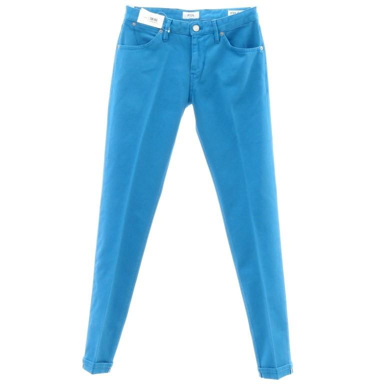 【新品】ピーティーゼロチンクエ PT05 ストレッチ コットンパンツ SWING ブルー【サイズ29】【BLU】【S/S】【状態ランクN】【メンズ】【10903-956120】