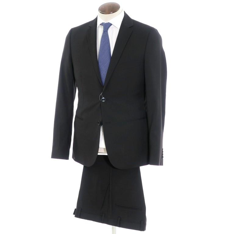 【中古】ロイヤルヘム Royal Hem ウール 2つボタン スーツ ブラック【サイズ50】【BLK】【S/S】【状態ランクA】【メンズ】【10401-956085】