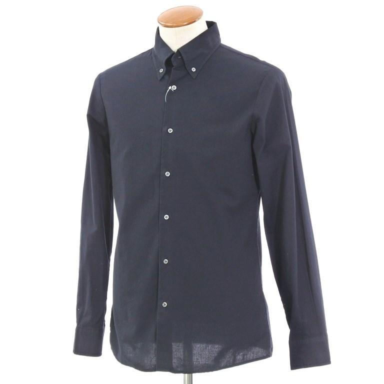 【中古】メゾン マルタン マルジェラ 10 Maison Martin Margiela 10 コットン ボタンダウンシャツ ブラック【サイズ2】【BLK】【S/S/A/W】【状態ランクB】【メンズ】【10602-956022】