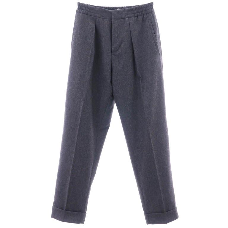 【新品】ピーティーゼロウーノ PT01 ウール ワンプリーツ イージースラックス パンツ FORWARD Style:R グレー【サイズ42】【GRY】【A/W】【状態ランクN】【メンズ】【10999-955938】