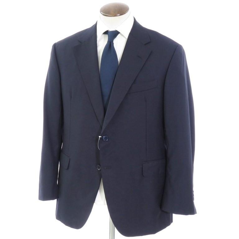 【中古】オックスフォード・クローズ Oxxford Clothes ウール テーラード2つボタン ジャケット ネイビー【サイズ42】【NVY】【A/W】【状態ランクB】【メンズ】【10101-955937】