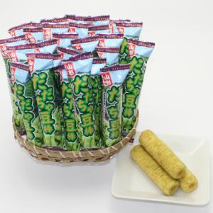 山形県鶴岡産だだちゃ豆パウダーを使用したお菓子が登場 山形限定 高級な だだちゃ豆棒 東北 山形 お菓子 予約販売 駄菓子 限定 お土産 オリジナル