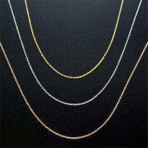 LONOゴールドRope025チェーン45センチ【送料無料】取り寄せ商品