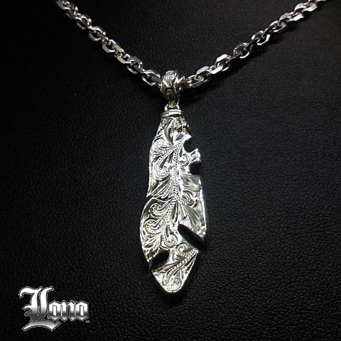 Silver925ハワイアンジュエリーLONO プエオ PUEO (フクロウ)ペンダントヘッド【送料無料】