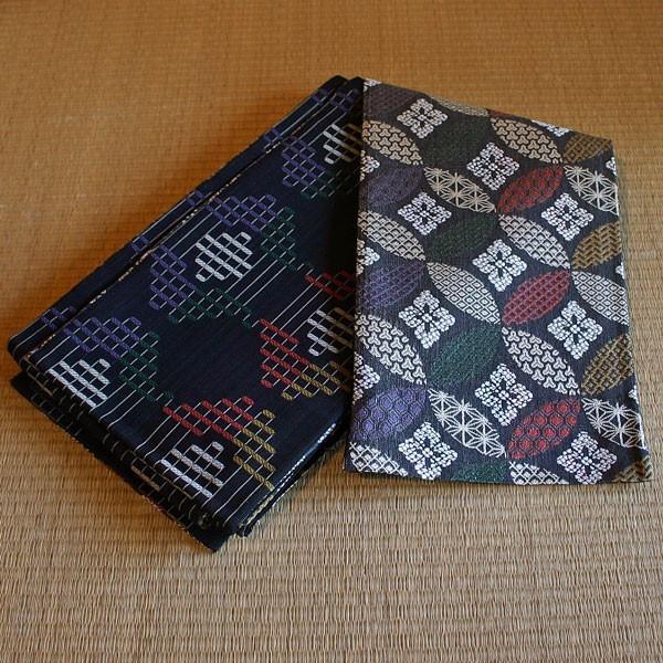 【送料無料!】西陣織正絹 半巾帯