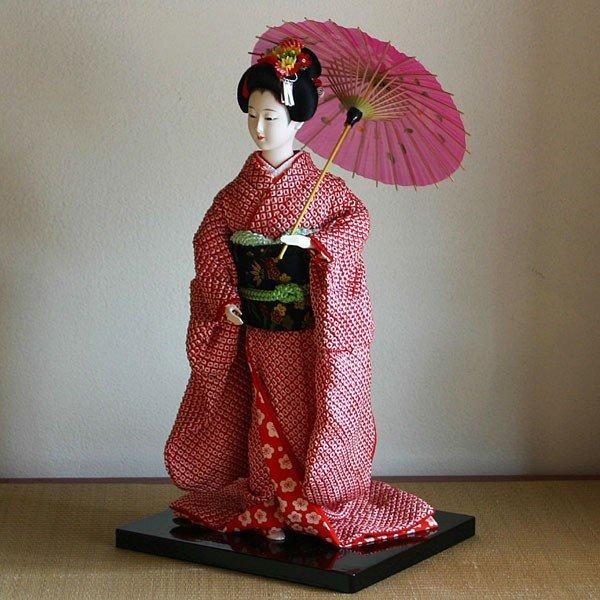送料無料 京製創作衣裳人形 舞妓 お見舞 引出物 子どもの日 プレゼント