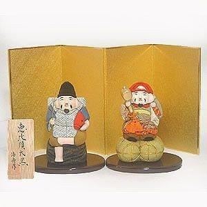 【送料無料!】京製木目込人形 恵比寿大黒