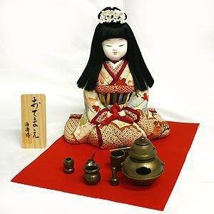 【送料無料!】京製木目込人形 おてまえ