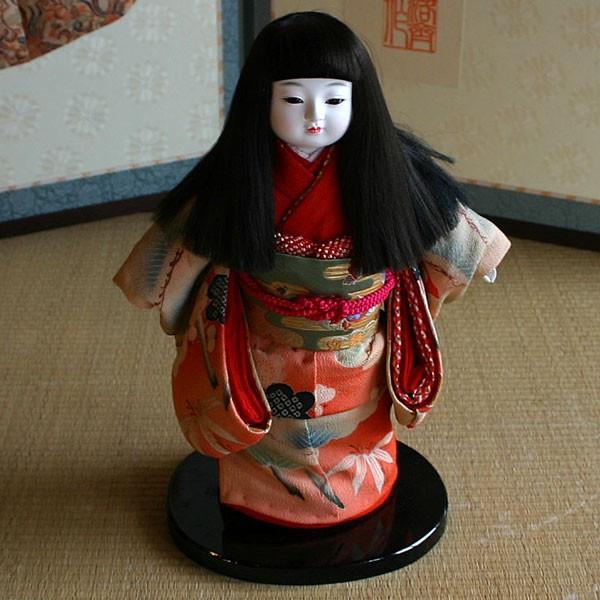 【送料無料!】【創作】京製 小市松人形(女)