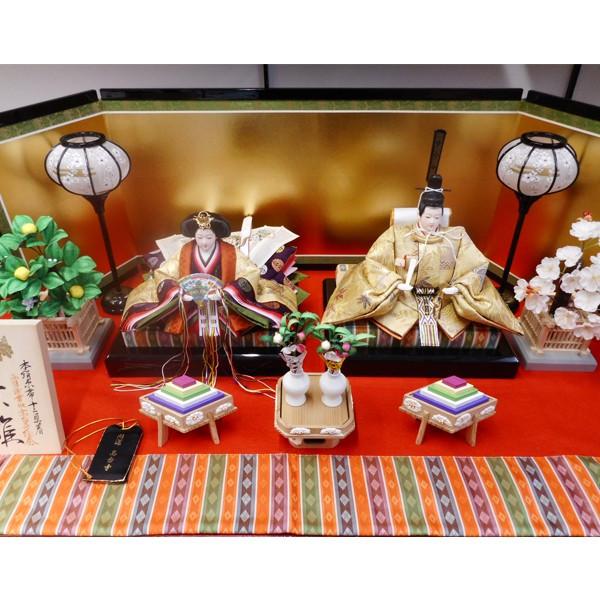 オリジナル、雛、ひな人形、ひな祭り【送料無料!】【高台寺推奨雛】京製十番親王飾り