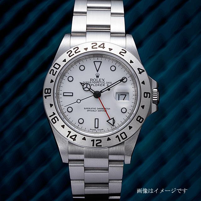official photos ce0a1 55997 勞力士資源管理器II 16570白U輪到人(009VROAU0296)