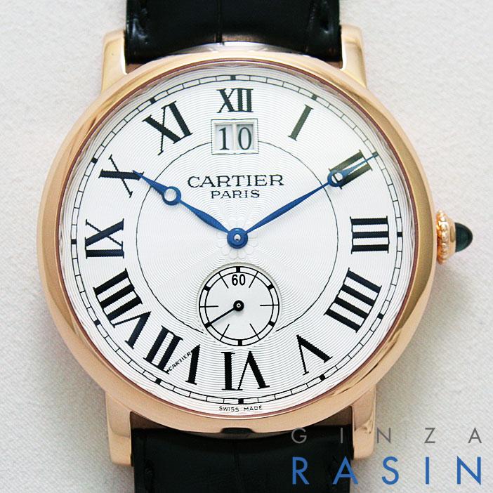 【48回払いまで無金利】【新品】カルティエ(CARTIER) ロトンド ドゥ LM PG W1550251