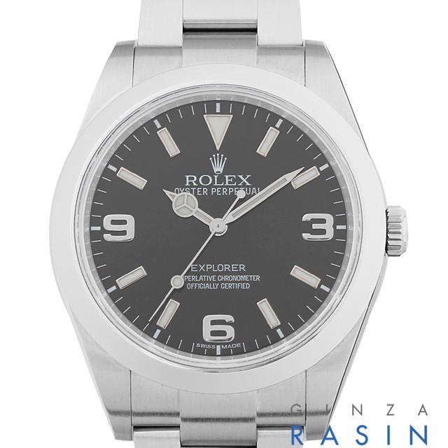 【48回払いまで無金利】SALE ロレックス エクスプローラー G番 214270 メンズ(12ROU000502)【中古】【腕時計】【送料無料】