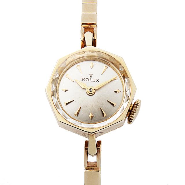 【48回払いまで無金利】ロレックス オクタゴン Cal.1401 レディース(14ROA000002)【アンティーク】【腕時計】【送料無料】