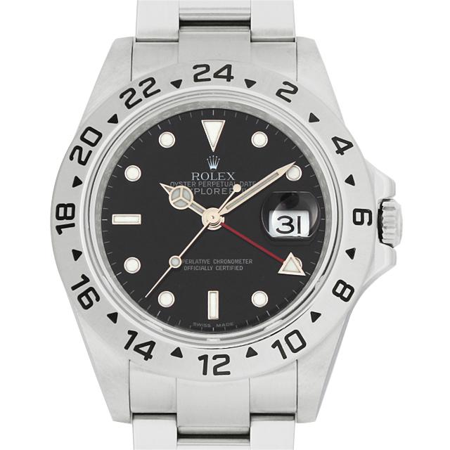 【48回払いまで無金利】ロレックス エクスプローラーII V番 16570 メンズ(14ROU000115)【中古】【腕時計】【送料無料】