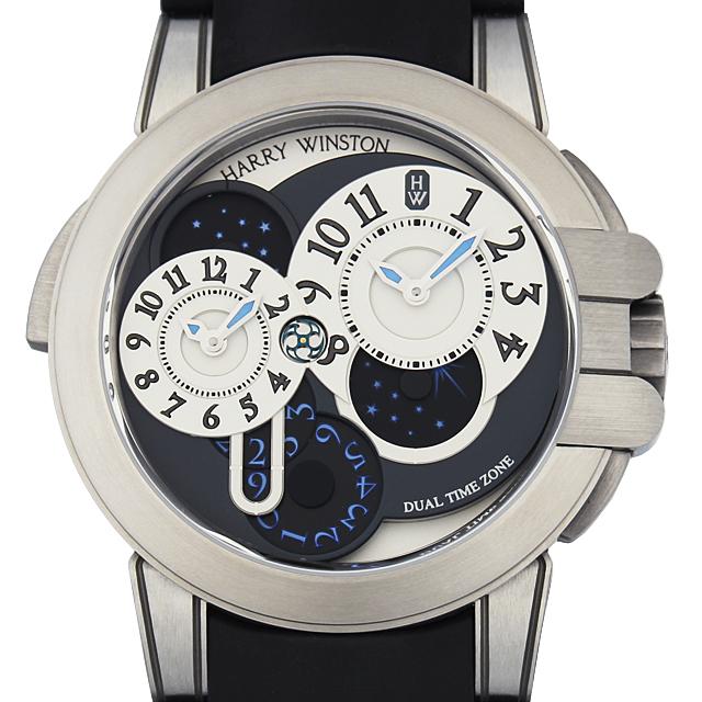 【48回払いまで無金利】ハリーウィンストン オーシャンプロジェクトZ4 100本限定 400/MATZ44Z メンズ(7UHWU000002)【中古】【腕時計】【送料無料】