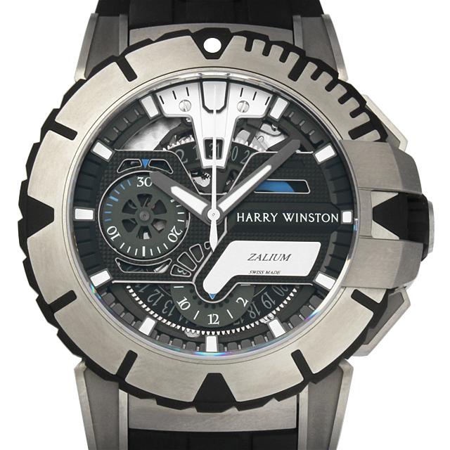 【48回払いまで無金利】ハリーウィンストン オーシャンスポーツ クロノグラフ 世界限定300本 411/MCA44ZC.K2 メンズ(N-411MCA44ZCK2)【新品】【腕時計】【送料無料】