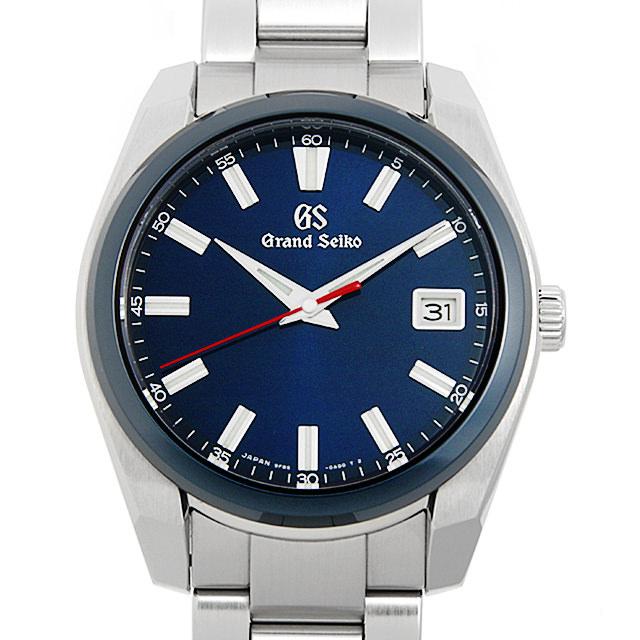 Grand Seiko グランドセイコー 60周年記念モデル 限定2000本 SBGP015 ブルー Blue 中古 驚きの値段 メンズ 送料無料 腕時計 ポイント2倍 10SVGSAU0001 ラッピング無料 60回払いまで無金利 最大3万円クーポン
