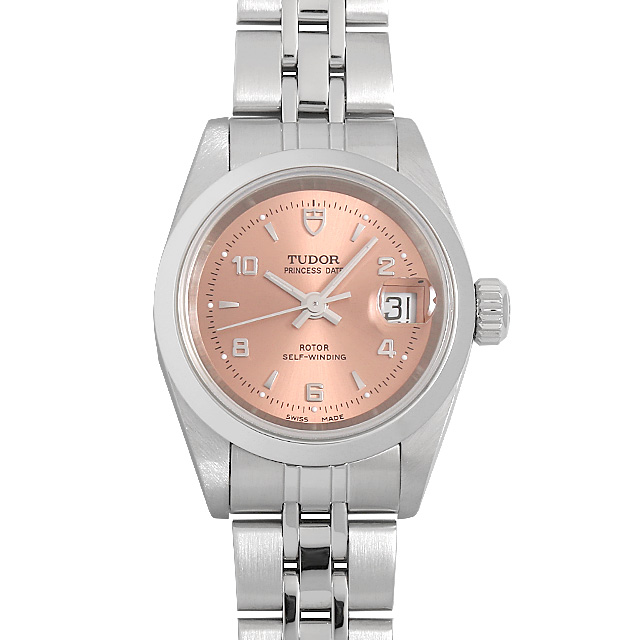 TUDOR チューダー 登場大人気アイテム プリンセスデイト 100%品質保証! 92400 ピンク Pink 60回払いまで無金利 腕時計 0063TUAU0024 レディース 送料無料 中古