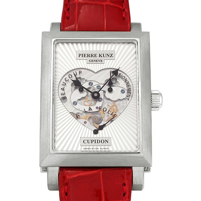 【48回払いまで無金利】ピエールクンツ キュピドン PKM102STR メンズ(12PKU000007)【中古】【腕時計】【送料無料】