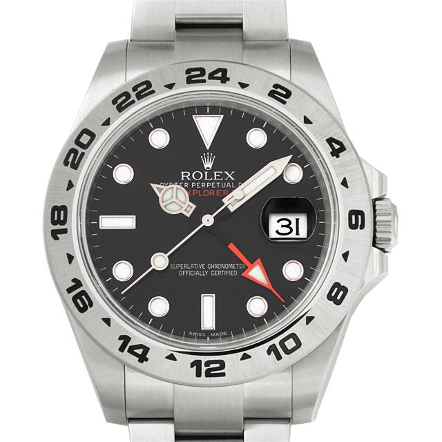 【48回払いまで無金利】ロレックス エクスプローラーII G番 216570 メンズ(63ROU000179)【中古】【腕時計】【送料無料】