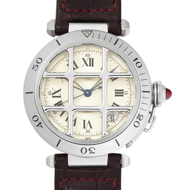 【48回払いまで無金利】SALE カルティエ パシャ 150周年記念モデル W3102255 メンズ(87CAU000064)【中古】【腕時計】【送料無料】