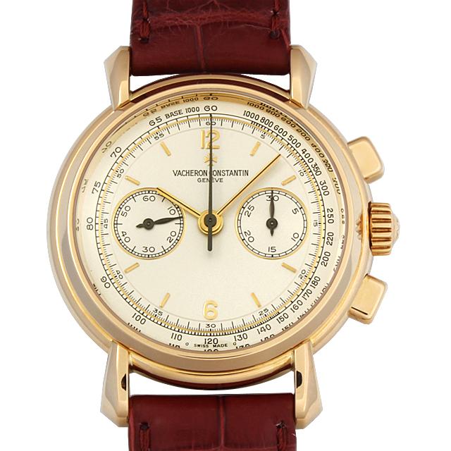【48回払いまで無金利】ヴァシュロンコンスタンタン ヒストリカル クロノグラフ 47101/000J メンズ(9VVCU000001)【中古】【腕時計】【送料無料】