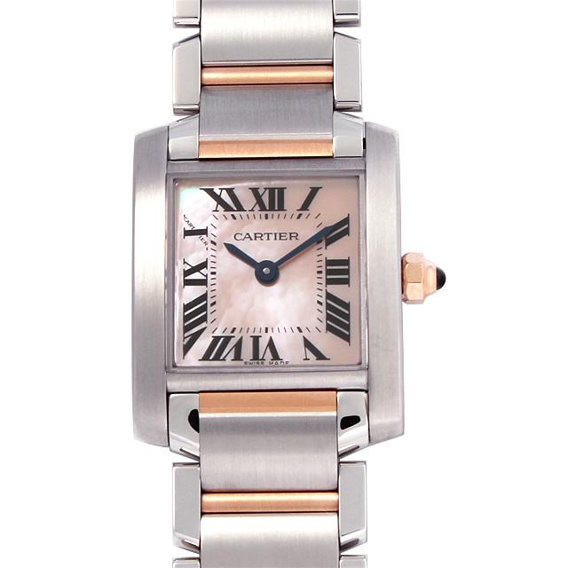 【48回払いまで無金利】カルティエ タンクフランセーズ SM W51027Q4 レディース(0066CAAN0323)【新品】【腕時計】【送料無料】【キャッシュレス5%還元】