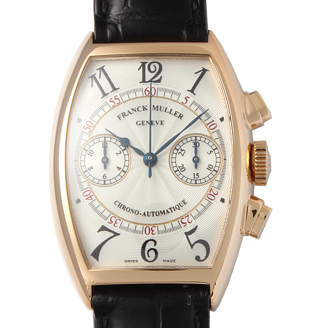 【48回払いまで無金利】フランクミュラー トノーカーベックス クロノグラフ 5850CC A 4N メンズ(12FRU000177)【中古】【腕時計】【送料無料】