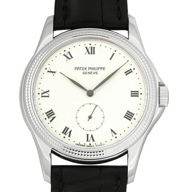 【48回払いまで無金利】パテックフィリップ カラトラバ 5115G-001 メンズ(12PPU000215)【中古】【腕時計】【送料無料】