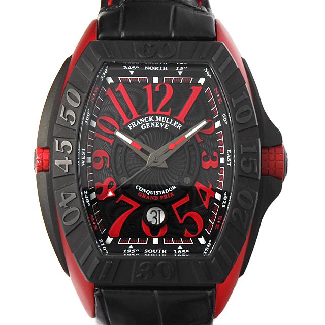 【48回払いまで無金利】フランクミュラー コンキスタドール グランプリ エルガ 8900SC DT GPG メンズ(7UFRU000016)【中古】【腕時計】【送料無料】
