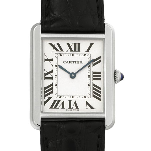 【48回払いまで無金利】カルティエ タンクソロ LM W5200003 メンズ(0066CAAN0729)【新品】【腕時計】【送料無料】