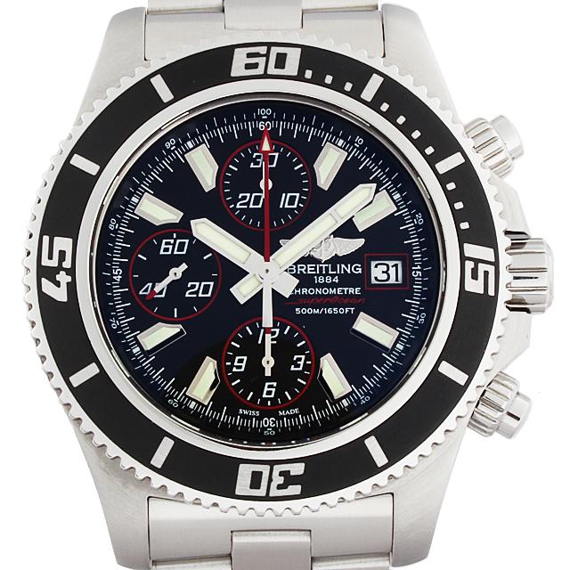 【48回払いまで無金利】ブライトリング スーパーオーシャン クロノグラフ アビスレッド A110B81PRS メンズ(9VBRU000001)【中古】【腕時計】【送料無料】