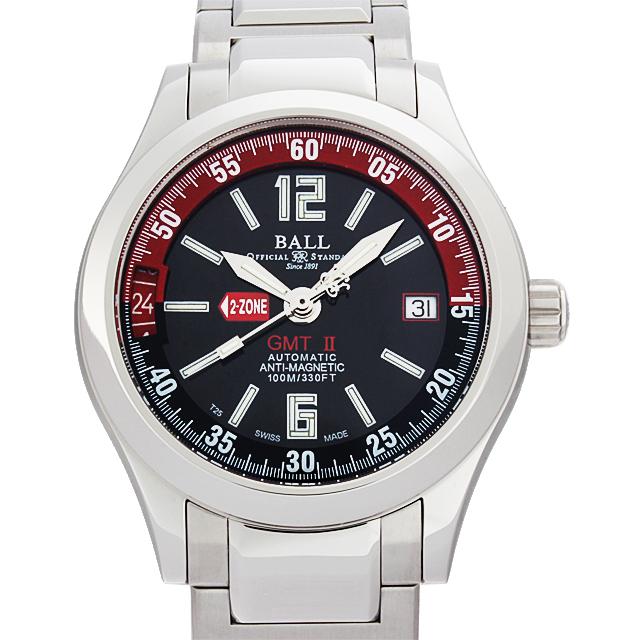 【48回払いまで無金利】ボールウォッチ エンジニアマスターII GMT GM1032C-S1AJ-BKRD メンズ(N-GM1032S1BKRD)【新品】【腕時計】【送料無料】