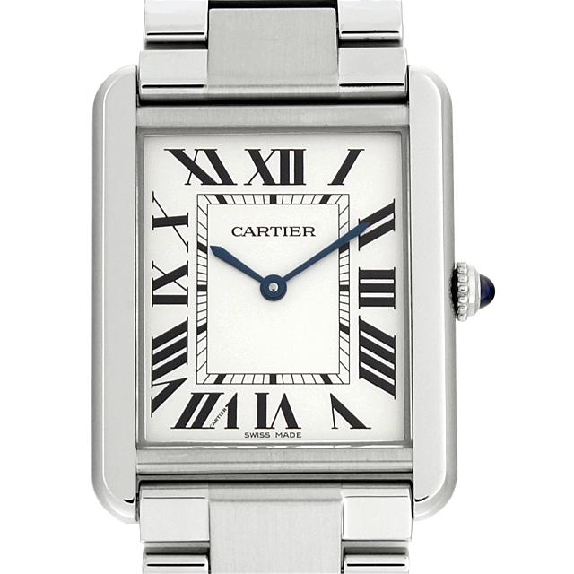 【48回払いまで無金利】カルティエ タンクソロ LM W5200014 メンズ(0066CAAN0736)【新品】【腕時計】【送料無料】